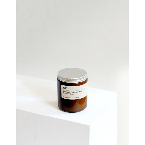 250g Amber Soy Candle - ACE - Prae Store