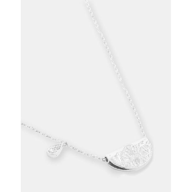 Silver Shine Brightly Necklace - April