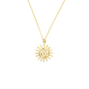 Il Sole Necklace - Gold Fill