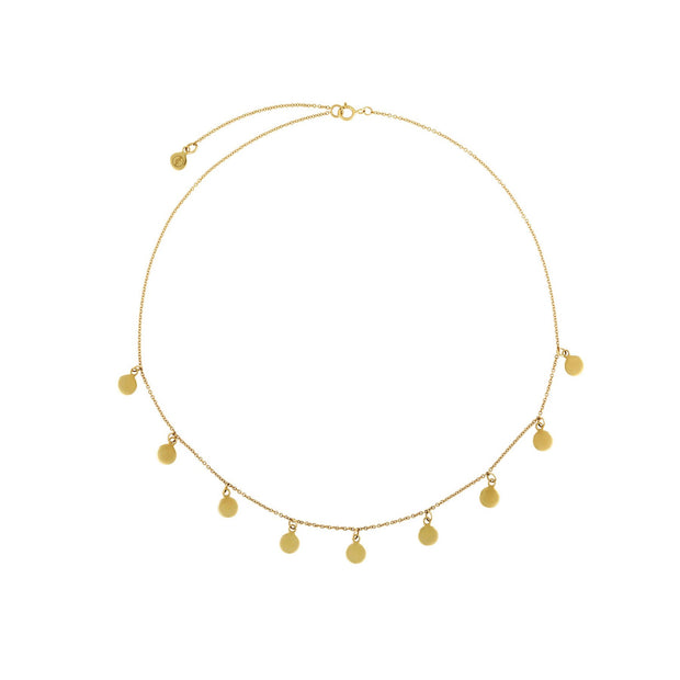Constellation Choker - Gold Fill