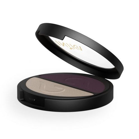 Pressed Mineral Eye Shadow Duo - Plum Pearl
