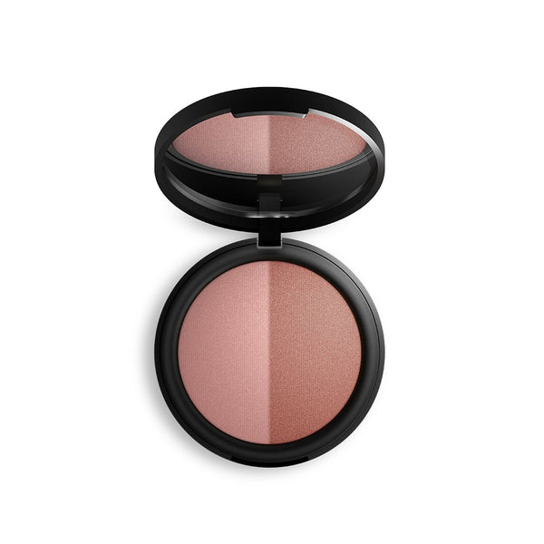 Baked Mineral Blush Duo - Burnt Peach - Prae Store
