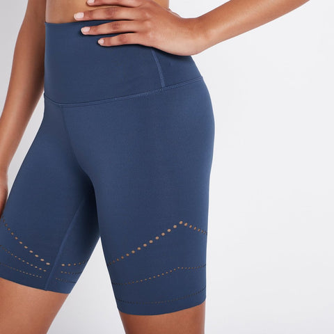 Laser Focus Bike Short - Blue Indigo - Prae Store