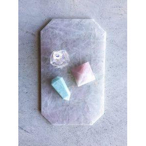 Rectangle Tray - Rose Quartz - Prae Store