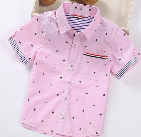 Pink Button Up - MW Fashion Apparel