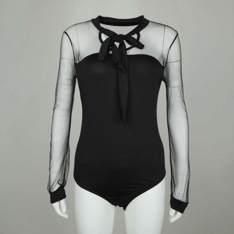 Fashion Tulle Bodysuit - MW Fashion Apparel