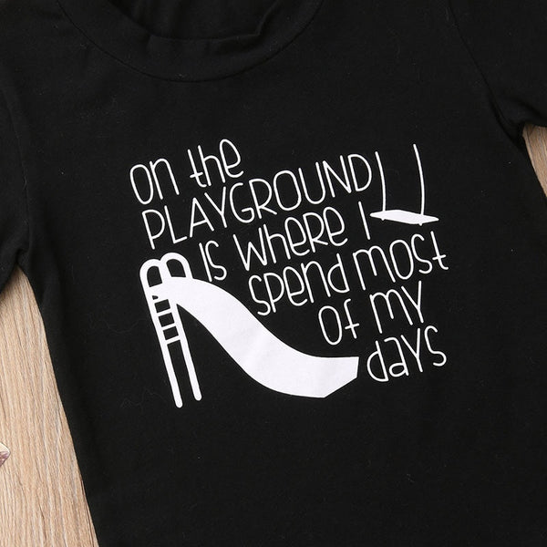 Playground T-shirt - MW Fashion Apparel