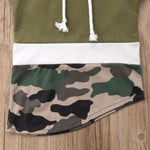 Camo Hoodie Top - MW Fashion Apparel