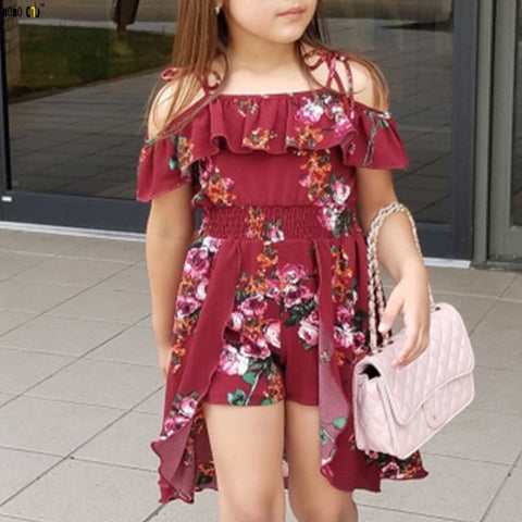 Sling Floral Romper - MW Fashion Apparel
