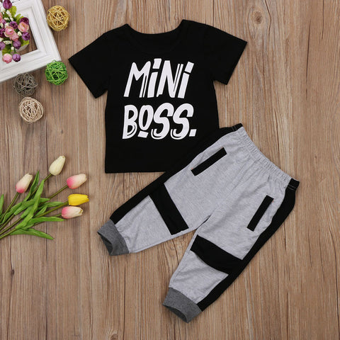 Mini Boss 2PC Set - MW Fashion Apparel