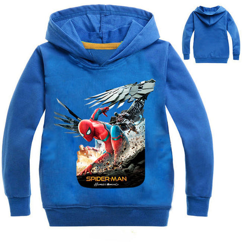 Spiderman T-shirt hoodie - MW Fashion Apparel