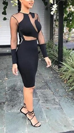 Fashion Bandage Bodycon Dress - MW Fashion Apparel
