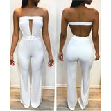 Strapless Jumpsuit - MW Fashion Apparel