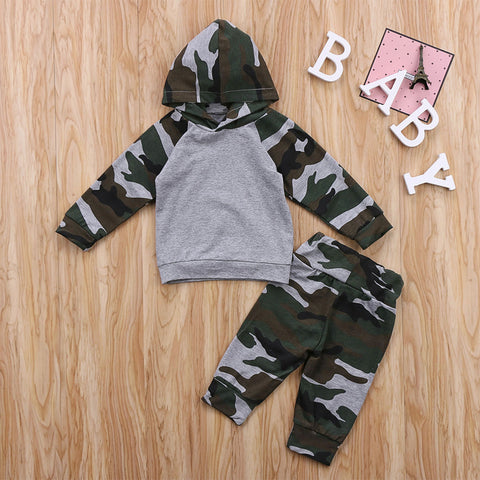 Camo 2PC Set - MW Fashion Apparel