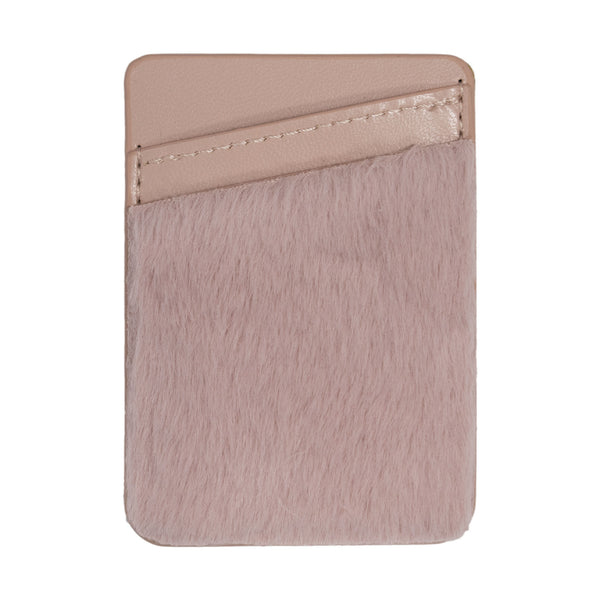 Rose Gold Pom Smartphone Wallet