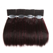 Wet And Wavy Human Hair Bundles Indian Remy Hair Weave 4 Bundles Deal