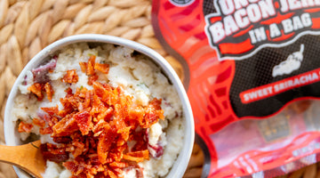 Loaded Bacon Jerky Mashed Potatoes