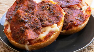 Pizza Jerky Bagels