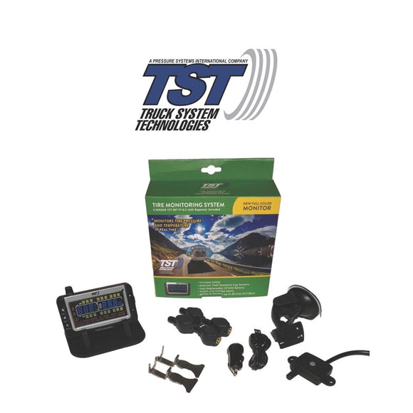 507 Series - 4 Flow Thru Sensor TPMS System With Color Display