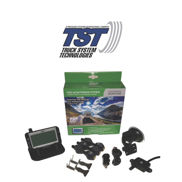 507 Series - 6 Flow Thru Sensor TPMS System With Grayscale Display