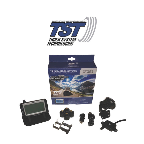 507 Series - 4 RV Cap Sensor TPMS System With Grayscale Display
