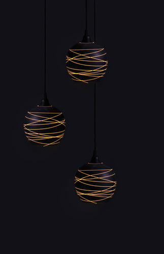 Filum Sphere Multi Drop Pendant Light