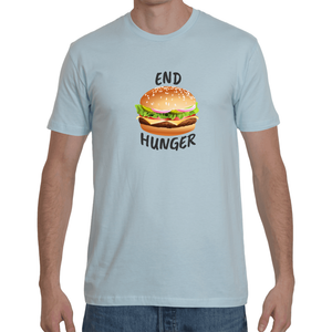 Large Burger Crew Neck