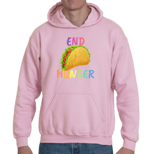 Soft touch large Taco hoodie