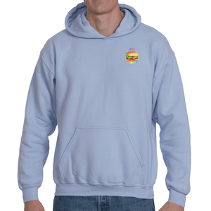 Soft touch small Burger hoodie