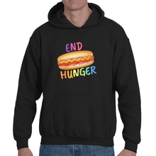 Soft touch large Hot Dog hoodie