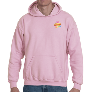 Soft touch small Hot Dog hoodie