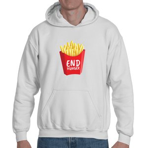 Soft touch large French Fry hoodie