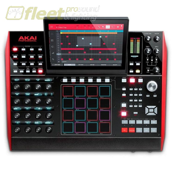 Akai Mpc X Standalone Music Production Center Pad Controllers