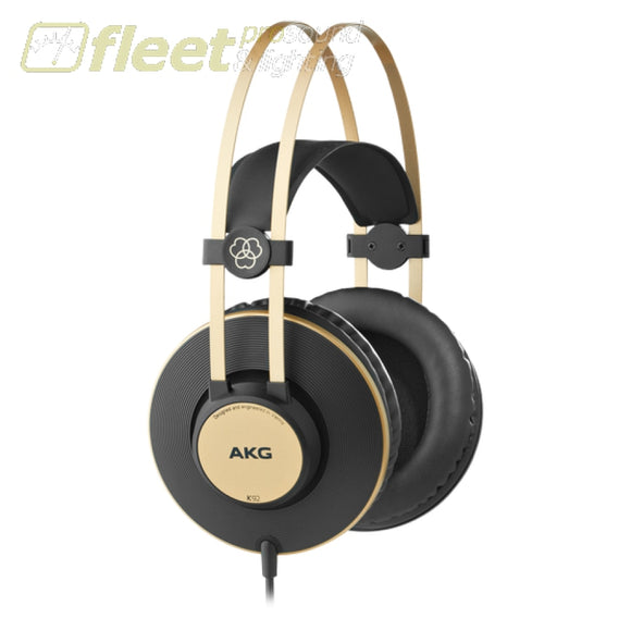 Akg K92 Closed Back Studio Headphones - Black & Gold Studio Headphones