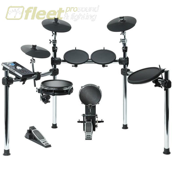 Alesis Command Kit Eight-Piece Drum Kit With Mesh Snare And Kick Electronic Drum Kits