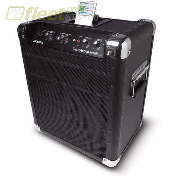 Alesis Transactive Mobile Pa System For Ipod Portable Sound Systems
