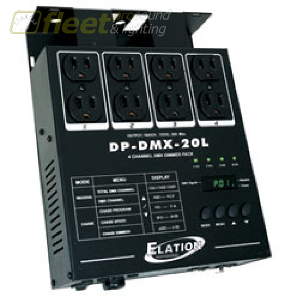 American DJ DP-DMX20L 4-Channel DMX Dimmer Pack DIMMERS