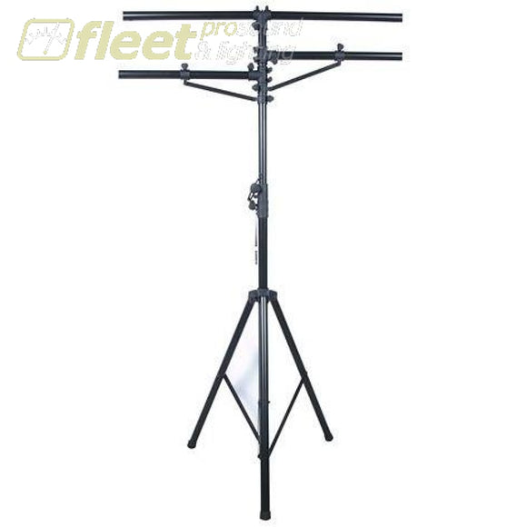 American DJ LTS-1 - 12 Black Tripod Stand with 2 Side Bars STANDS & TRUSS SYSTEMS