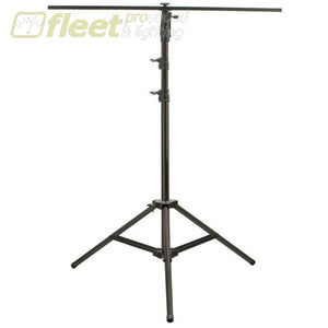 American Dj Lts10B - 10 Black Steel Stand With T-Bar -100Lb Rated Stands & Truss Systems