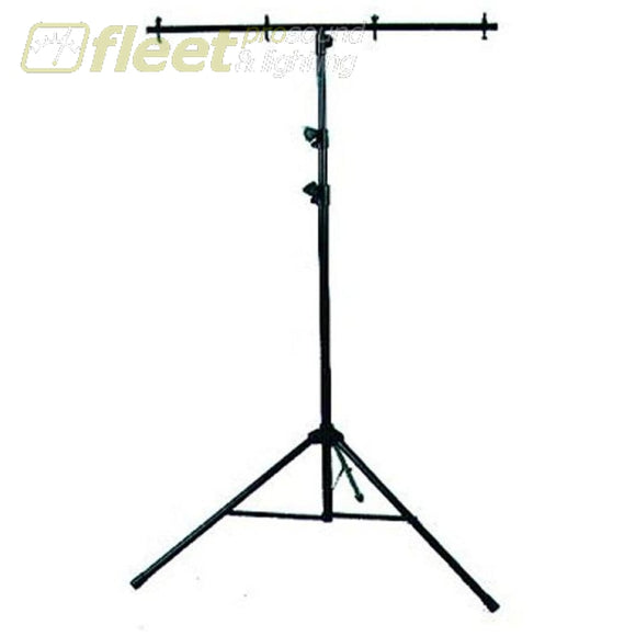 American Dj Lts6 - 9 Black Tripod Stand With Cross-Bar Stands & Truss Systems