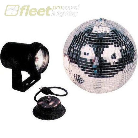 American Dj M-500L 12 Mirror Ball Combo With Motor And Pinspot Mirror Balls