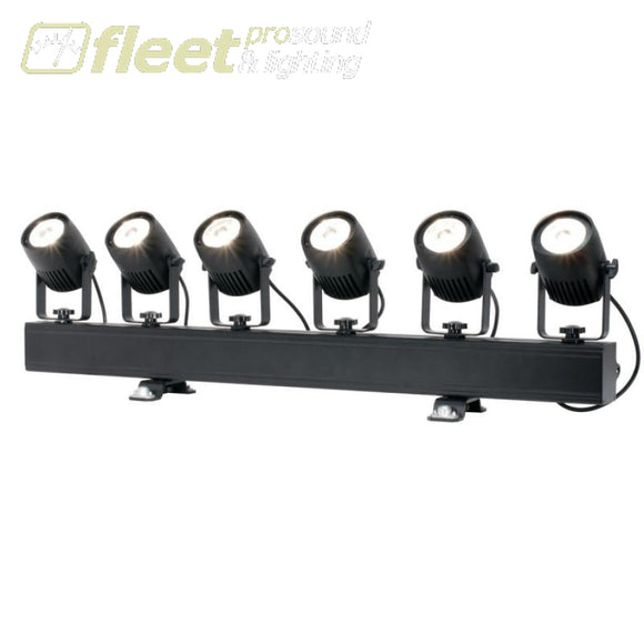 American DJ Saber Bar 6 is a 6-head pinspot lighting system LED DJ EFFECTS