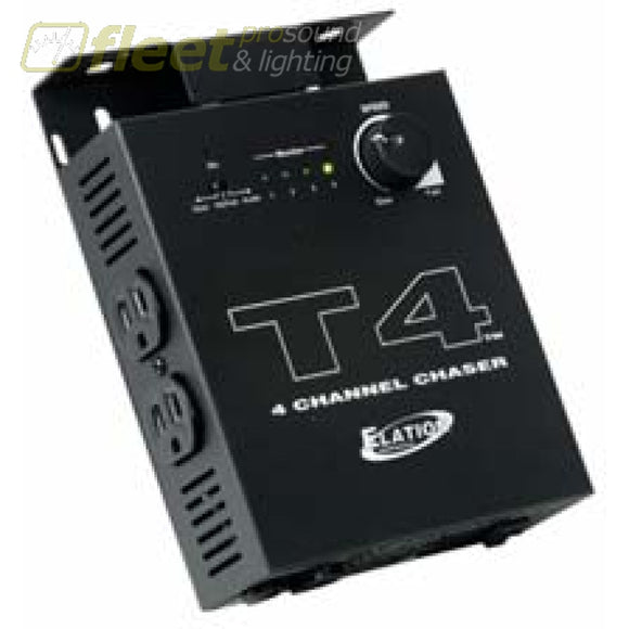 American DJ T4 - 4 Channel Chaser With T-Bar Mount DIMMERS