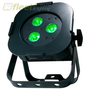 American Dj Ultra Hex Par 3 - Low Profile Led Par Fixture With 3X10W Hex-Rgbaw+Uv Led Led Par Cans
