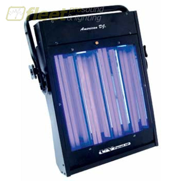 American Dj Uv-Panel-Hp - Compact 160W Uv Blacklight Fixture Blacklights