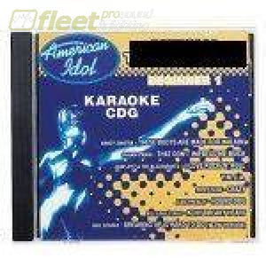 American Idol Karaoke Aig703 Official Training Disc Intermediate 1 Karaoke Discs