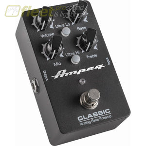 Ampeg Classic Analog Bass Preamp Pedal Bass Fx Pedals