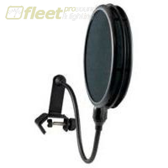 Apex Mws-206Dlx Dual Screen Pop Filter With Gooseneck & Clamp Pop Filters