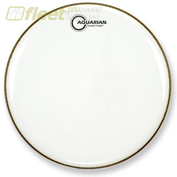 Aquarian Ccsn10 Classic Clear 10 Bottom Snare Side Drumhead Drum Skins