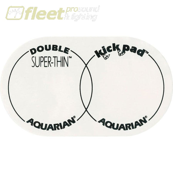 Aquarian Stkp2 Super-Thin Double Kick Pad Drum Skins